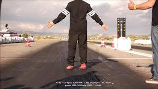 World Record Evo 7/8/9 - 7.902 @ 298.26kph - 185.34mph