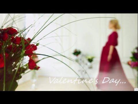 Красивое видео ко Дню Влюбленных. UFL - доставка цветов в День Влюбленных
