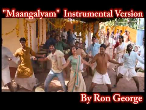 Maangalyam song from bangalore days instrumental version by Ron George