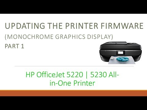 Why updating printer firmware is important? (on Monochrome Graphics Display)