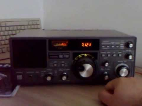 Yaesu FRG-7700 listening on 40 meters