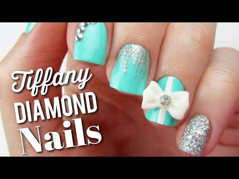 Tiffany Blue Diamond Nails + BIG NEWS!