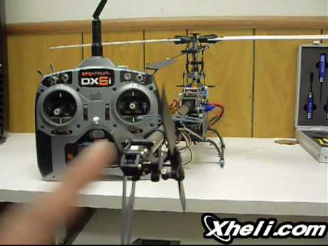 How to build a 450-Size electric R/C Helicopter Tutorial Gui