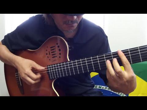 Samba do Avião (Tom Jobim) - Guitar - ジェット機のサンバ