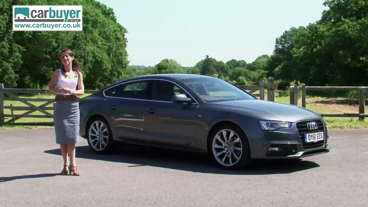 Audi A5 Sportback Hatchback Review Carbuyer Youtube