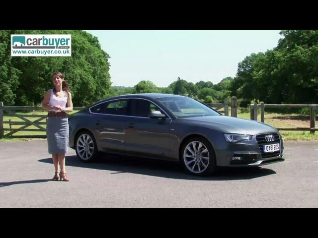 Audi A5 Sportback (hatchback) review - CarBuyer - YouTube