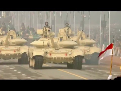 67th Indian Republic Day Parade 2016 - Military Assets