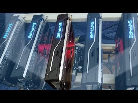 Cryptocurrency Miners Flock to Asia's Malls for Cheap GPU's / Mining Rigs   50% Cheaper?