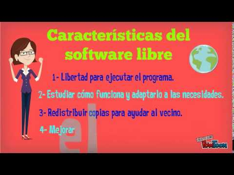 Software libre y gratis