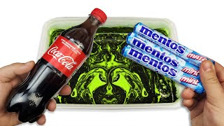 Customize Coca Cola and Mentos with Hydro Dipping