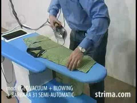 Ironing - Battistella Egeo - Polo shirt ironing Video