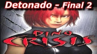 Detonado de Dino Crisis 1 (PS1) - Level Normal - Parte 11 - Final 2