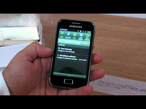 Samsung Galaxy Ace Plus S7500 review HD ( in Romana ) - www.TelefonulTau.eu -