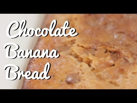 Chocolate Banana Bread Recipe &#8211; Crumbs
