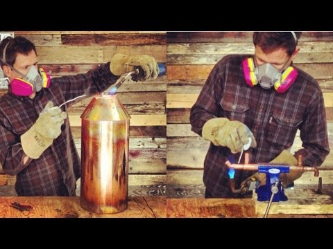 How to Make a 5 Gallon Moonshine Still: Time-Lapse