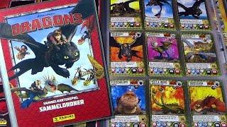 Dragons - Panini ® Trading Card Game - Sammelkarten Ordner komplett / 2015 Re-Upload
