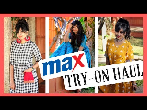 Max Fashion Try-On Haul | Online shopping haul | Ethnic Lookbook | chillystudio | #hauls