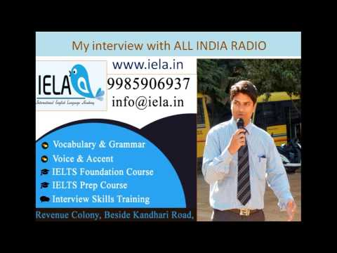 Learn English the simple way for Telugu people- ALL INDIA RADIO INTERVIEW