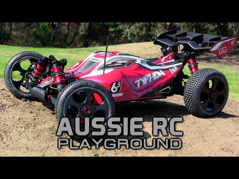 ARRMA Typhon 1/8 Scale Buggy First Run on 4S Stock