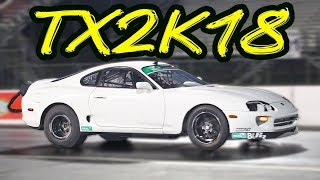 Worlds Fastest WHITE Supra in the LEFT Lane in Texas!