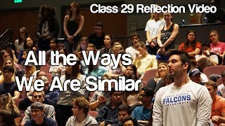 """All the Ways We Are Similar"" #Soc119"