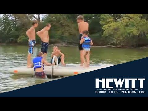 Escape Swim Raft Hewitt Otter Island Swim Raft