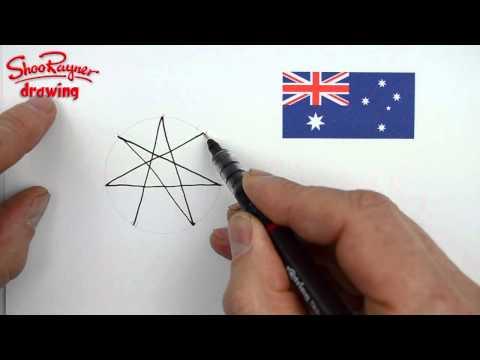 Видео как нарисовать семиконечную звезду