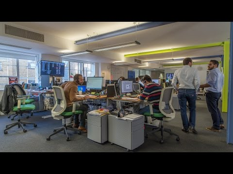 A day in the Cisco Meraki London office