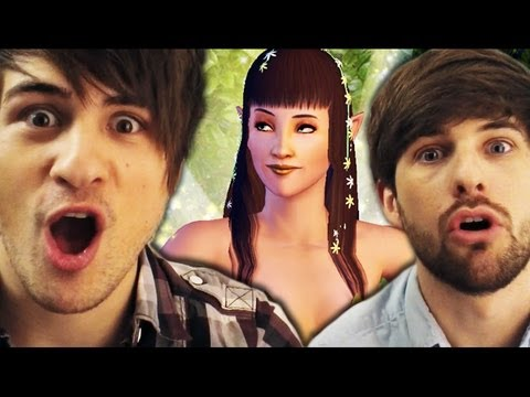 I'M A FAIRY?! (Gametime w/ Smosh)