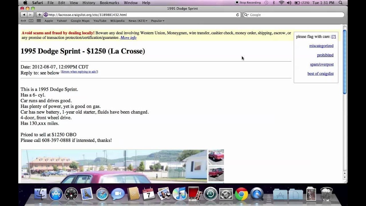 Craigslist Cars Or Trucks