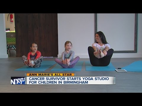 Cancer survivor starts yoga studio for children in Birmingham