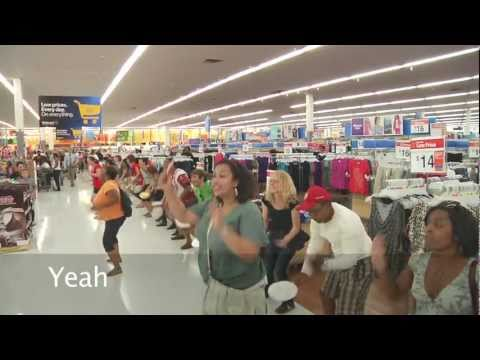 Walmart Respect DC Flash Mob