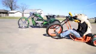 600hp Drift Trike