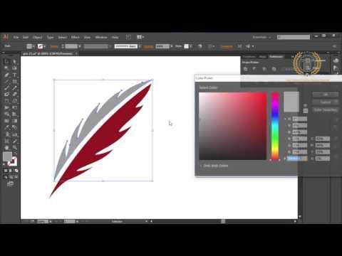 design 2d logo design illustrator CC Tutorial | How to Make a 2D Logo Design Tutorial Create a Logo