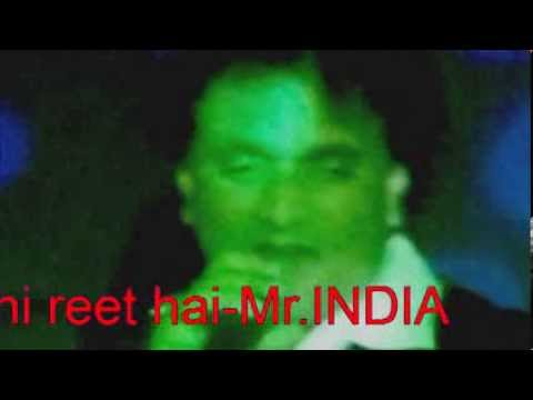 zindagi ki yahi reet hai-Mr.India
