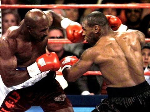 Бокс.  Майк Тайсон v Эвандер Холифилд.2 бой  (комментирует Гендлин)  Mike Tyson vs Evander Holyfield