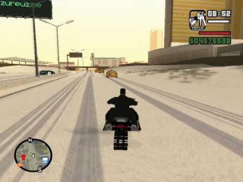 GTA San Andreas Mod: Snow Andreas
