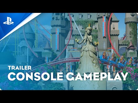 Planet Coaster: Console Edition - Gameplay Trailer   PS4, PS5