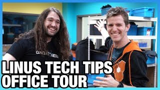 Linus Tech Tips Tour   New Workshop & Industry Discussion