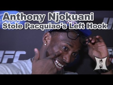 UFC on FOXs Anthony Njokuani on Dropping Bowling with a Manny Pacquiao Left Hook