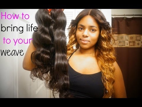 ♡HOW TO BRING YOUR WEAVE BACK TO LIFE ♡(HD)