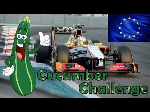 F1 2012 Career Mode Part 8: Valencia (Cucumber Challenge)