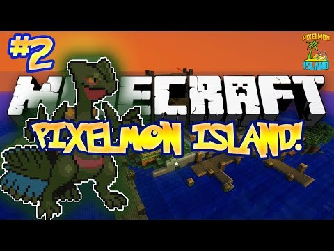 ICE BEAM PIXELMON ISLAND ADVENTURE Minecraft Pokemon Mod #2