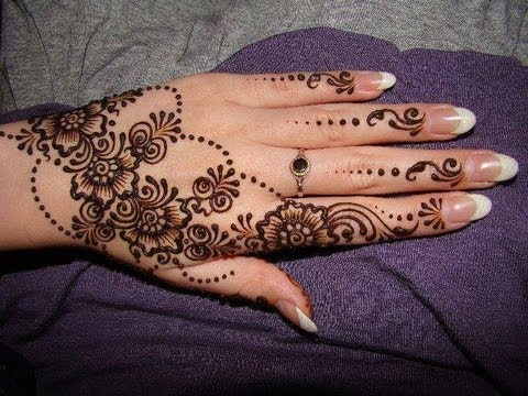 Henna design, Arabian design for Eid, Ramzan, Karwachauth.