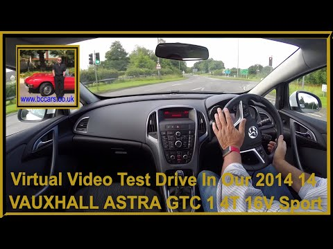 Virtual Video Test Drive In Our 2014 14 VAUXHALL ASTRA GTC 1 4T 16V Sport