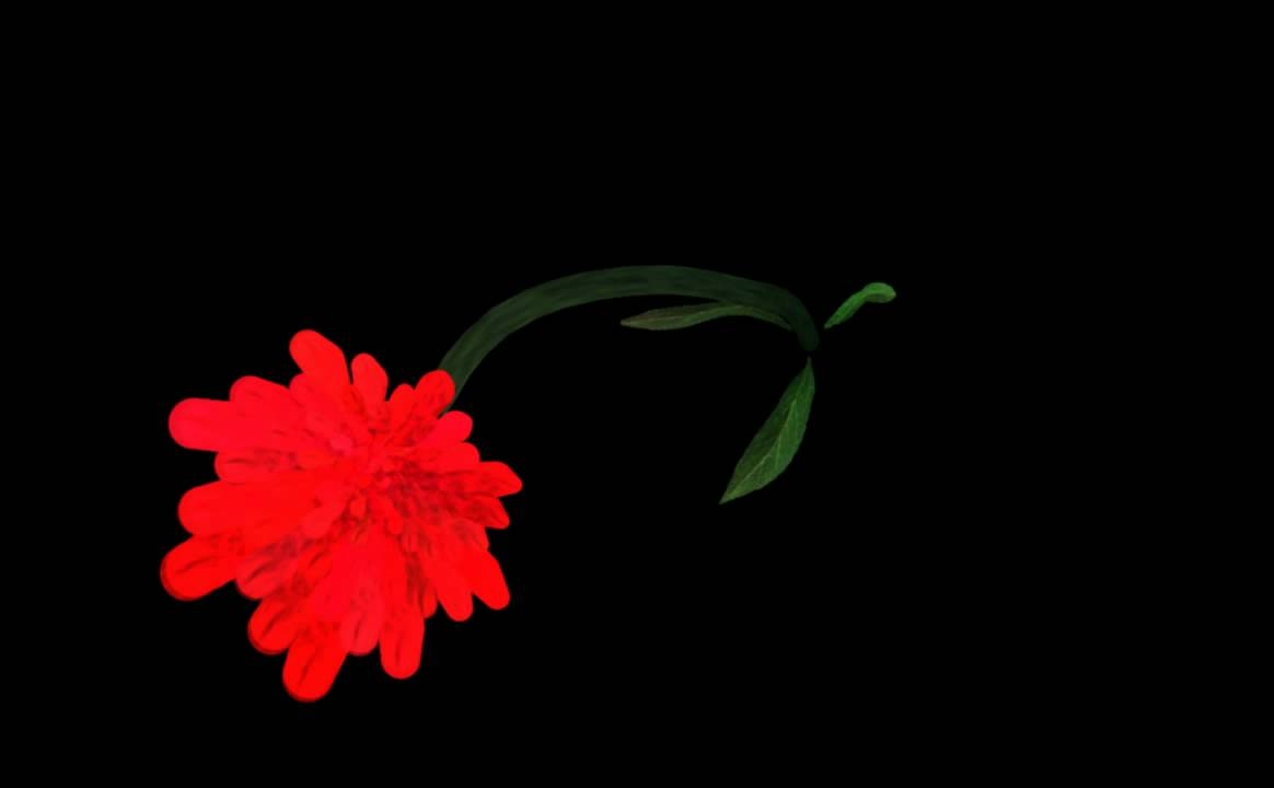 valentines day song quotes - Flower Blooming Animation