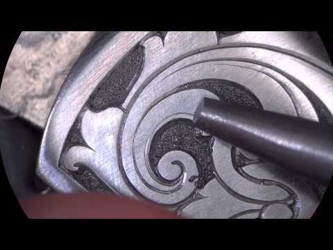 Engraving Scrollwork - Start to Finish by Sam Alfano