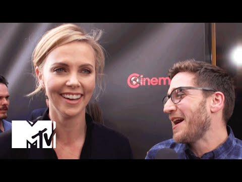 Charlize Theron Talks 'Mad Max: Fury Road' And 'The Huntsman' at CinemaCon 2015 | MTV News