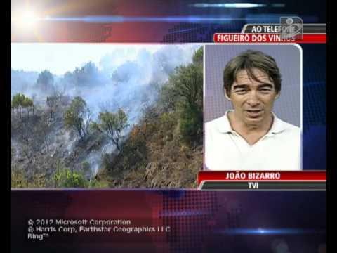 Bombeiro morre no combate �s chamas em Figueir� dos Vinhos