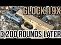 Glock 19X Roland Special after 3200 Rounds | Custom Glock 19X